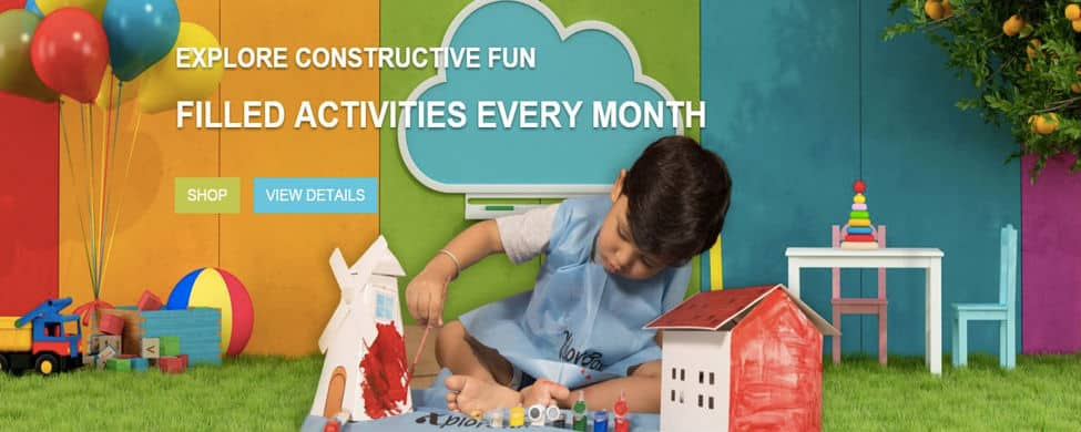Xplora activity box subscription model