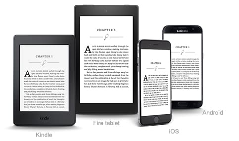 Amazon Kindle Device Apps Sync Reading Books