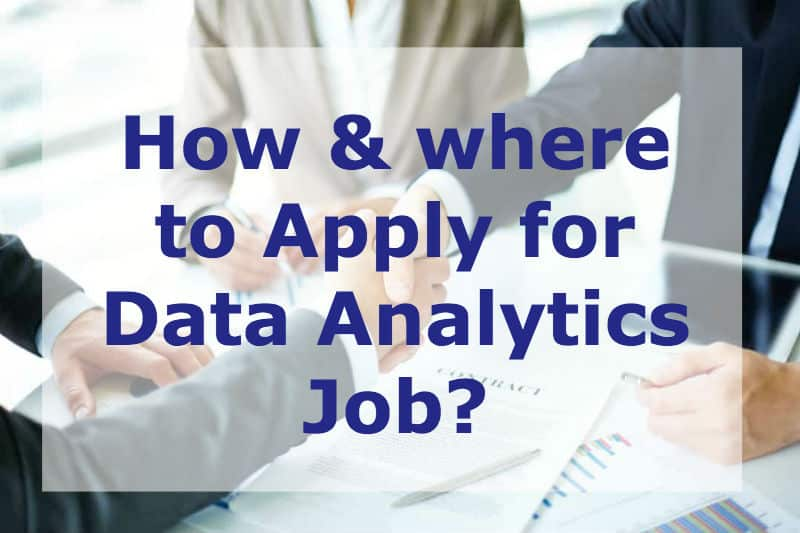 Here is how you can kickstart your #DataAnalytics #jobsearch for #jobapplication in Non-Core Companies.