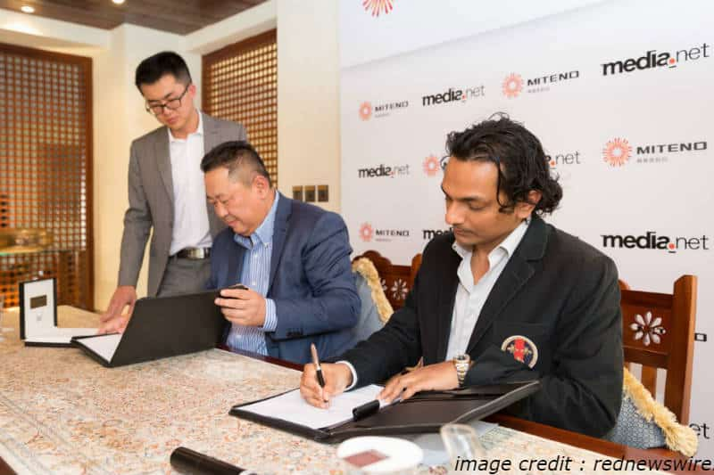 media.net deal with chinese constrotium