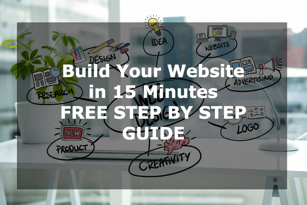 15 minutes is no joke! You will learn How to Build a Website in 15 Minutes. FREE Setup Guide with instructions in snapshots