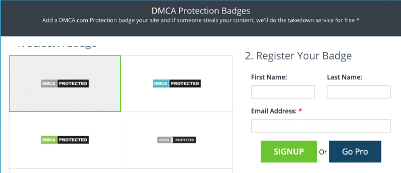 DMCA Badge