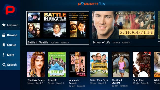 Popcornflix – On Demand advertiser supported digital streaming channel for free movies online and shows