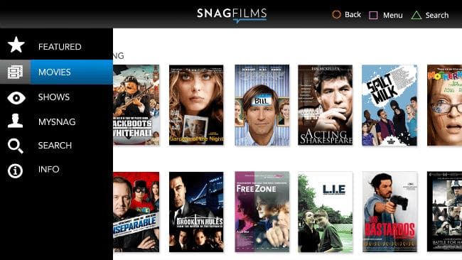 SnagFilms – Free movies online streaming
