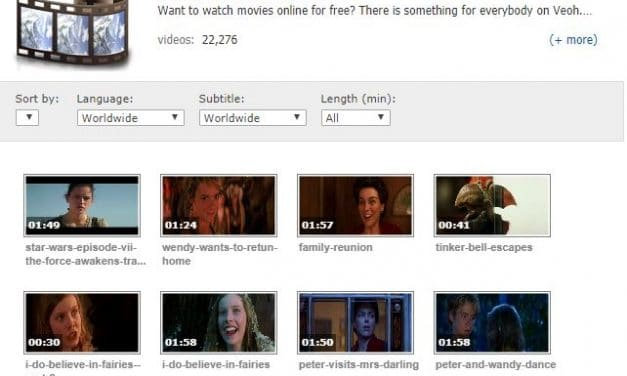 Veoh Review – An Internet Television Featuring Free Movies & TV Shows