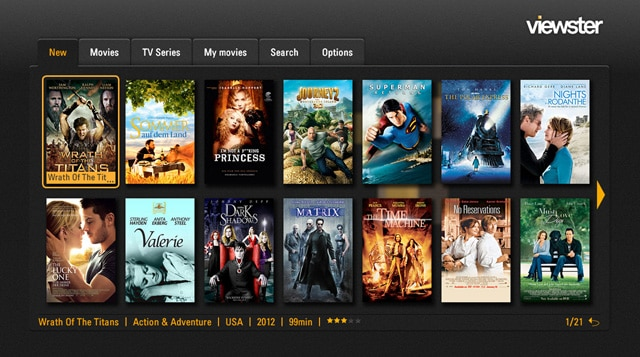 Viewster – Video on Demand Service for watching Free Movies Online