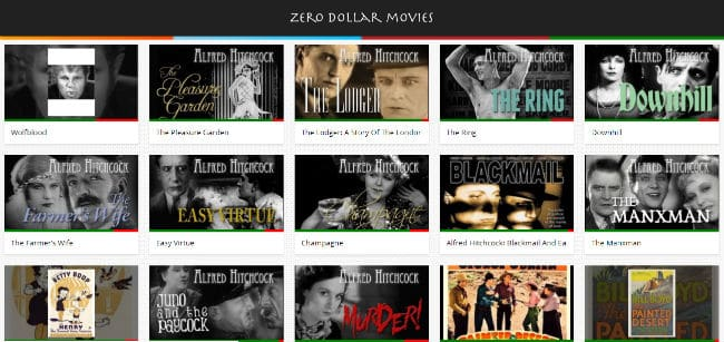 Zero Dollar Movies – YouTube API based web app for watching free movies online