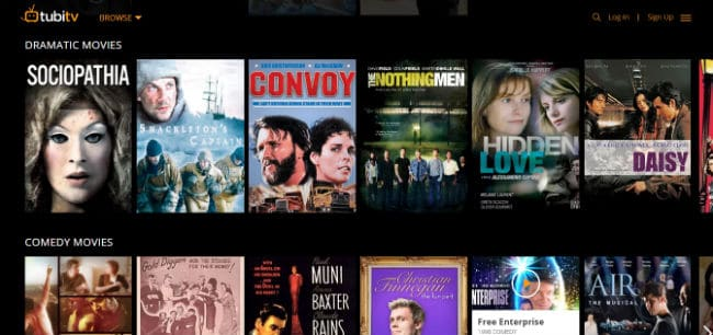 tubitv – Free Ad supported television and movie platform