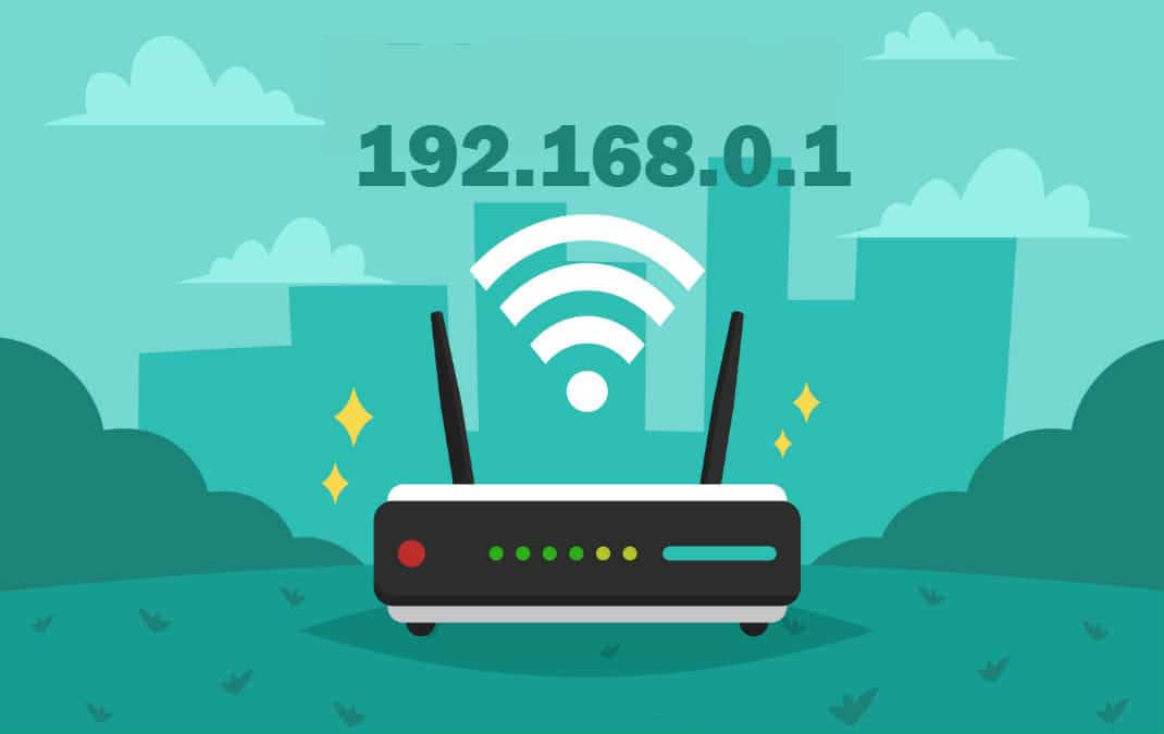 192.168.0.1 is the default IP address used by routers like Dlink, Netgear, etc. You can set up the router by pinging 192.168.0.1 from browser