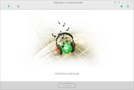Sidify - Convert YouTube to MP3 - main interface
