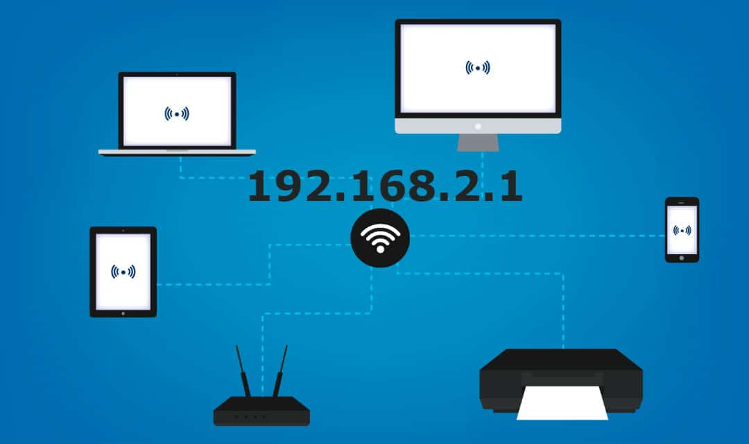 browse network router via default ip address 192.168.1.1