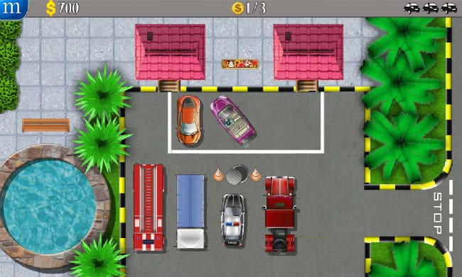 Parking Mania Flash Game on FRIV