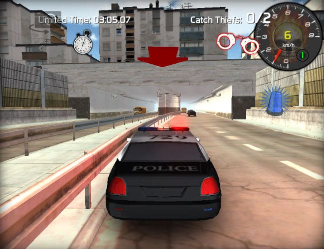 Police vs Thief Car Racing Games online