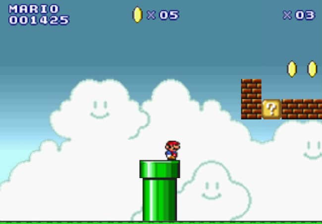 Super Mario Flash Games FRIV