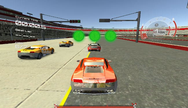 Training Cars cool car game to play with opponents