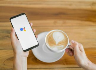 Use Google Assistant by speaking OK Google