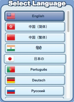 freeonlinegames.com select language to play online games free
