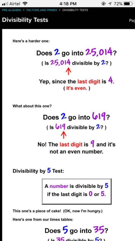 Cool Math compatible with smartphone