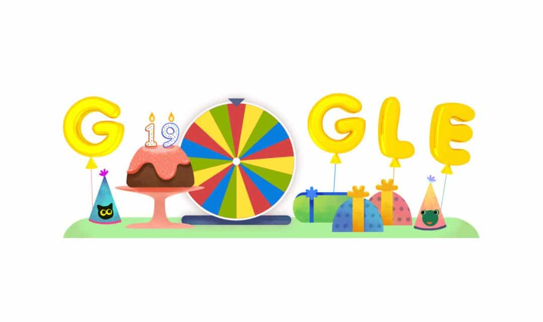 Google Celebrated its 19th Birthday by Handpicking 19 Best Games from Past Doodles