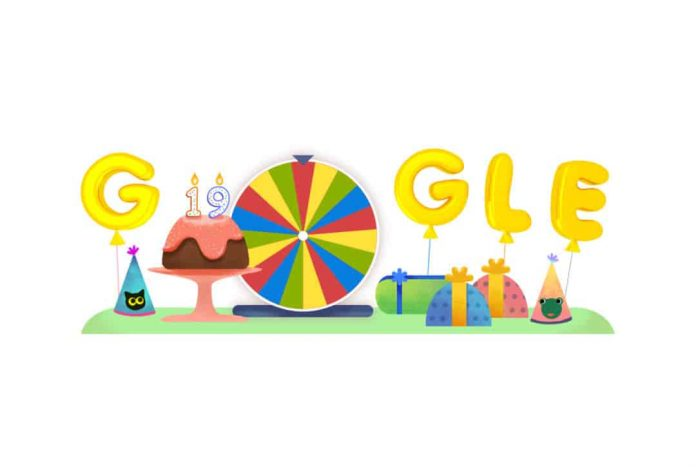 Google's 19th Birthday Best Doodle Google Games from past