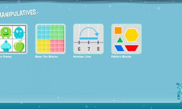 Manipulatives and Brain Teasers to play on Cool Math Kids Portal