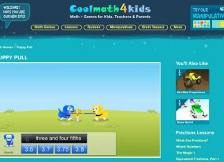 Math Games at Coolmath4kids.com