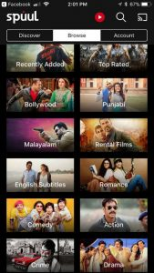 Spuul Categories of Bollywood Hindi Movies