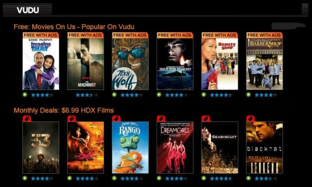 VUDU Review – A Online Streaming Service Delivering Full-Length Movies & TV Shows