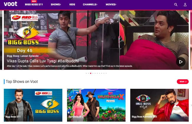 Voot - watch tv shows and movies