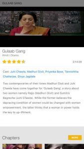 Watch Gulaab Gang on Box TV free