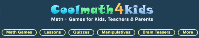 cool Math 4 kids Categories