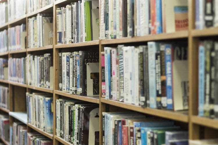 rent free DVDs from your public library