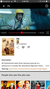 watch bollywood movie PK free on Airtel TV app