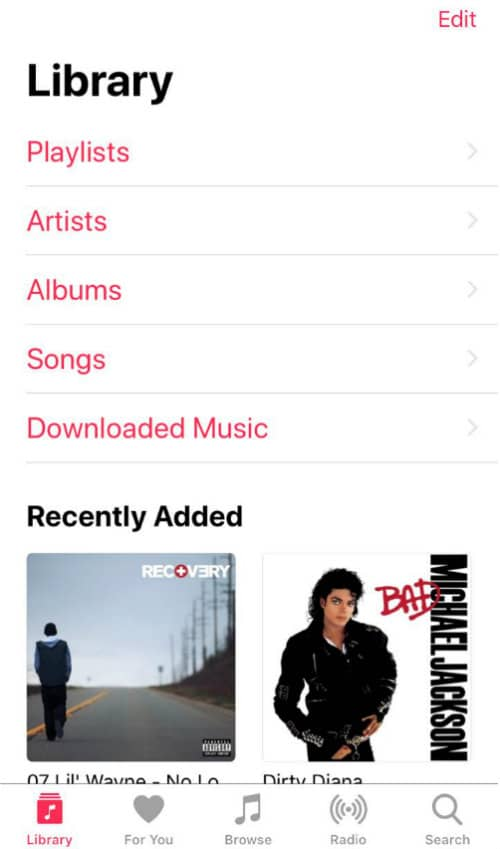 Apple Music Library