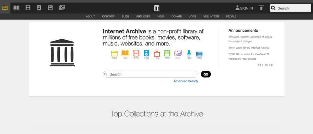 Internet Archive Music Review – On streaming and downloading mp3 songs