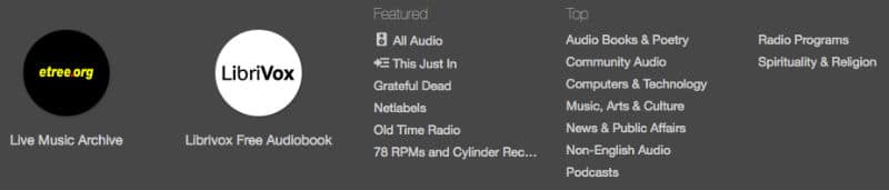 all Audio and other Audio Options