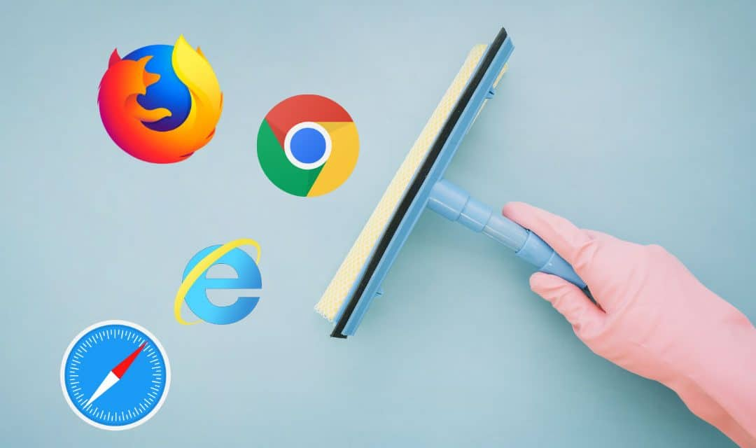 how to clear browser search history