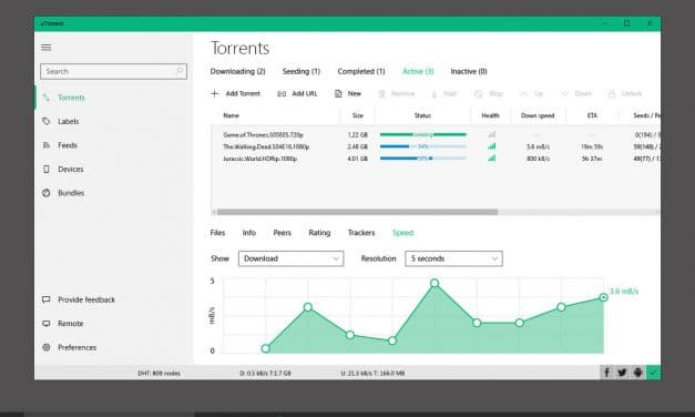 uTorrent Review – Lightweight & Most Popular BitTorrent Client