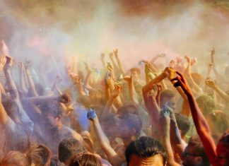 Holi around the world outside india