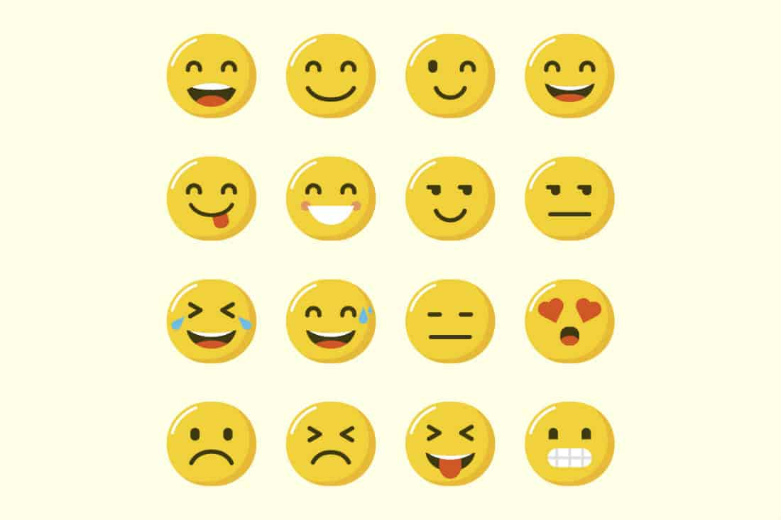 Unlike emoticons where the users were to express using the limited numbers and punctuations to create a face, the concept of emojis is more advanced or evolved.