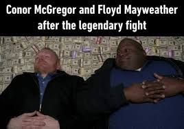 Mayweather VS McGregor meme