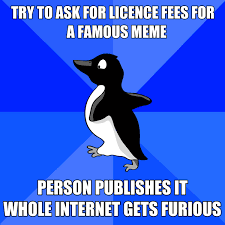 Socially Awkward Penguin meme
