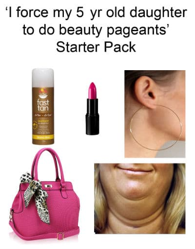 force daughter for beauty starter pack