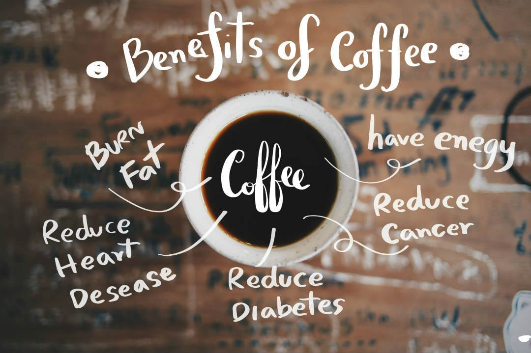 Recent studies have shown multitude health benefits of coffee beans. Drinking coffee can boost your metabolism and help you lose weight. Other benefits are - can prevent type II diabetes, boost energy levels, prevent liver disease, protect from Alzheimer's and dementia, lower the risk of Parkinson's