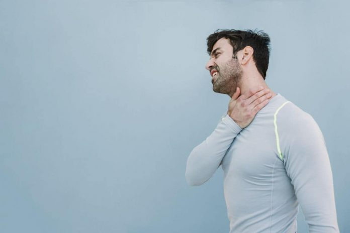 how to get rid of neck pain caused by stress