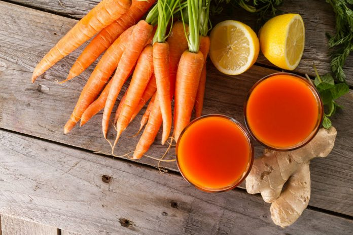 health benefits of carrots and carrot juice