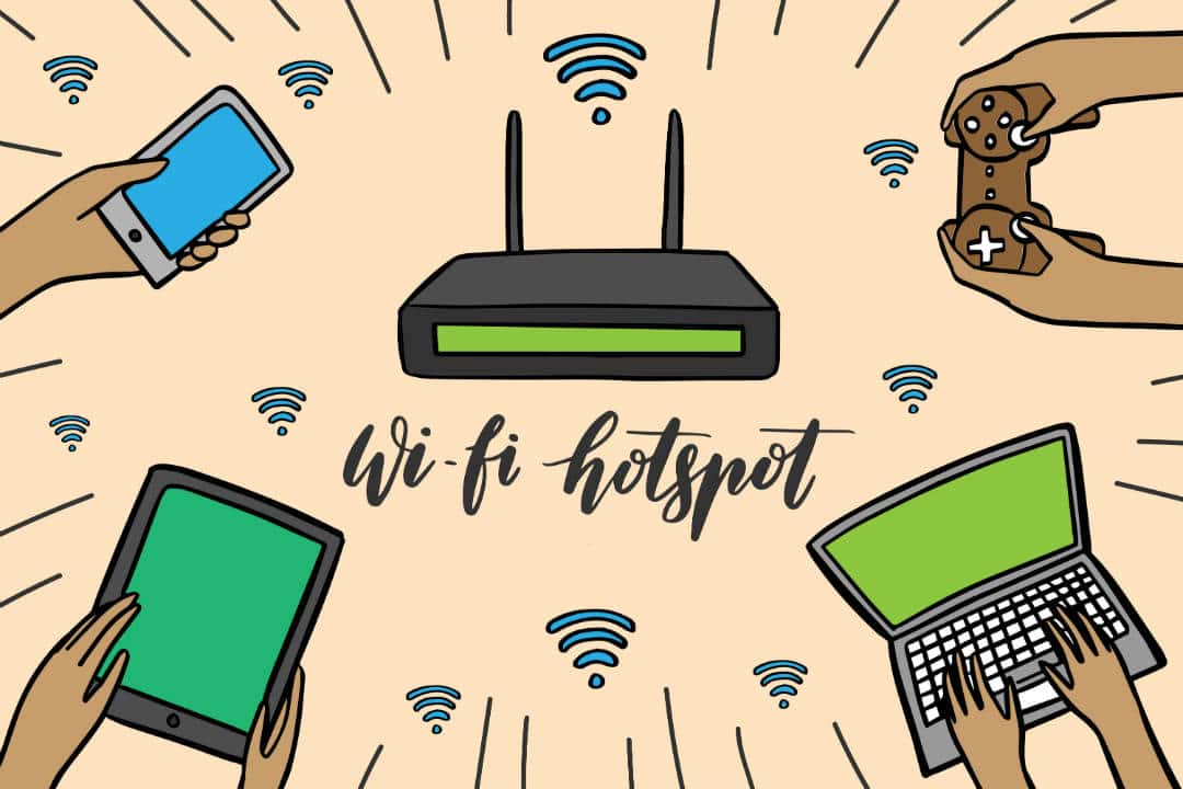 Wireless Hotspot or WiFi hotspot is prominently known as a wireless access point (WAP) or WLAN. It is set up in a public place to provide internet access to all wireless enabled devices ranging from laptops to mobiles to music devices. Airports, Coffee shops, Malls, etc. offer free WiFi Hotspots