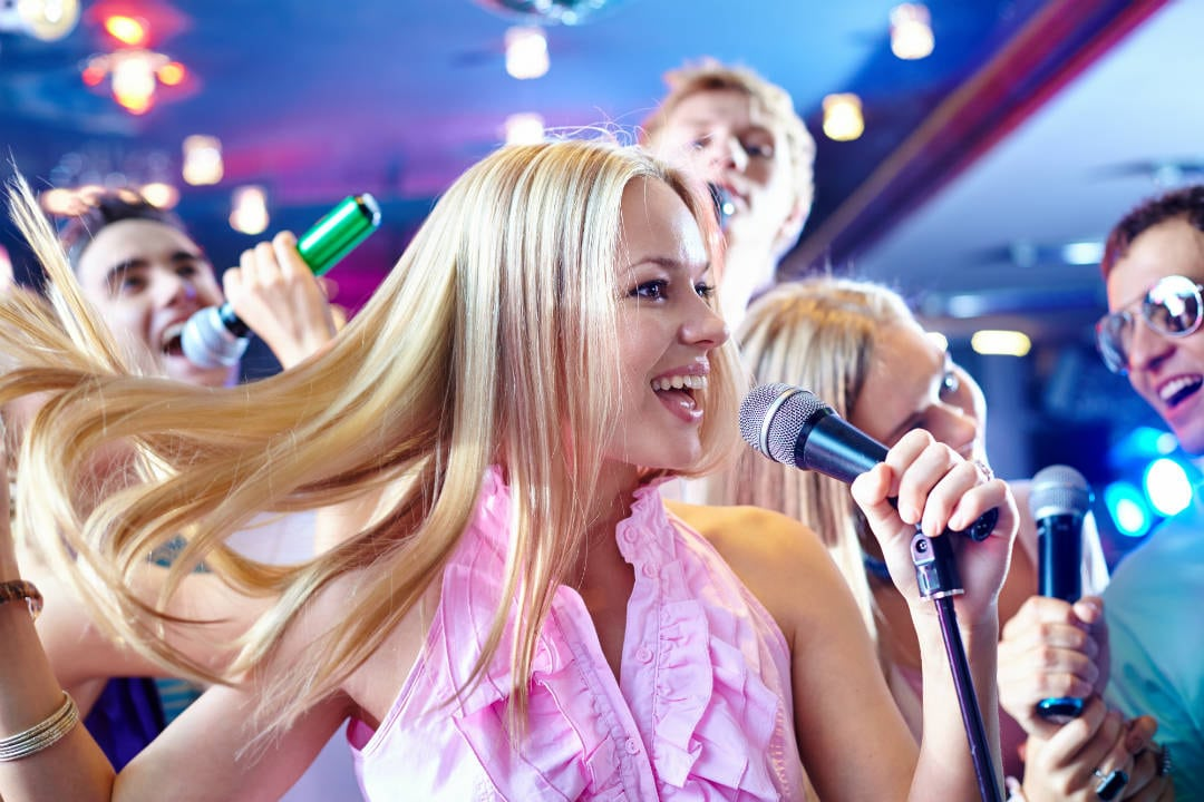 Love to sing but too shy? That's precisely what Karaoke app on iPhone is for. Some of the best karaoke apps for iPhone are Sing! Karaoke by Smule, Yokee's Karaoke – Sing Unlimited Songs, StarMaker- Sing Karaoke songs, The Voice: On Stage by StarMaker, Voloco, etc.