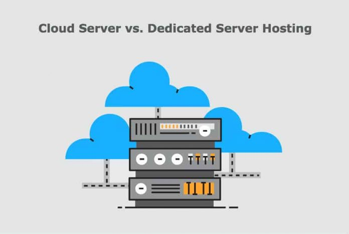 Difference Between Cloud Server and Dedicated Server Hosting