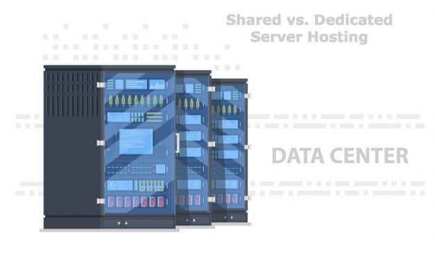 Difference Between Shared and Dedicated Server Web Hosting